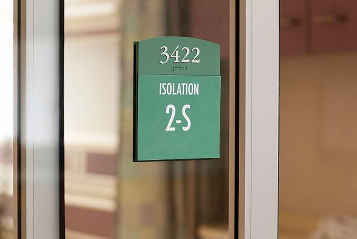 Class s isolation room