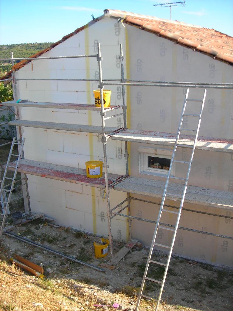Polystyrène pour isolation exterieure