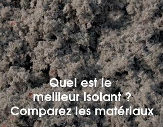 Isolation phonique ouate de cellulose ou laine de roche