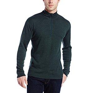 Isolation men's midweight wool 1/4 zip