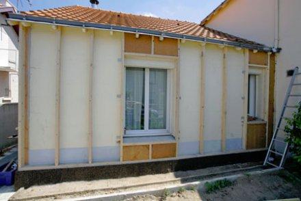Isolation exterieur maison ancienne