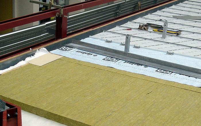 Isolation toiture zinc par l'exterieur - Combles isolation