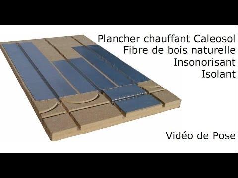 Isolation mince pour plancher chauffant