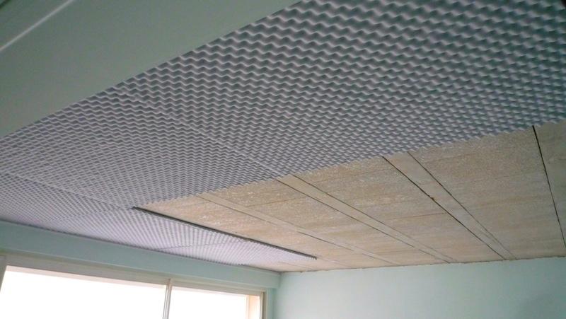 Plaque d'isolation phonique pour mur