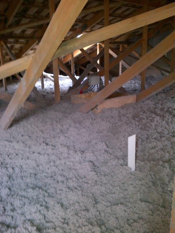 Isolation toiture ouate de cellulose prix
