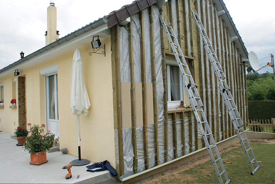 Isolation murs exterieurs