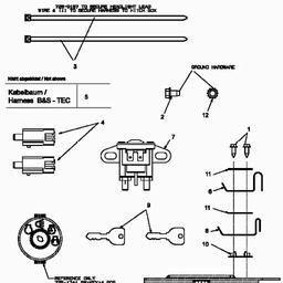 Schema electrique mtd rs125/96