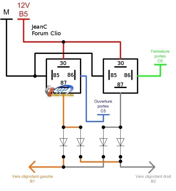 Schema electrique moteur monophase avec condensateur