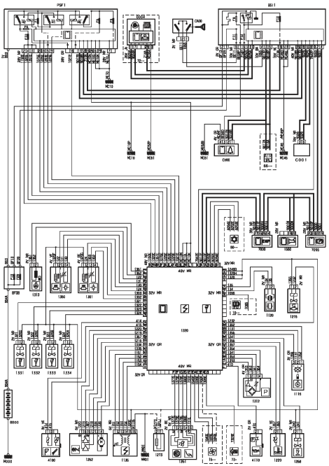 Schema electrique clio3