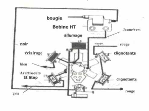 Schema electrique plusieurs interrupteurs