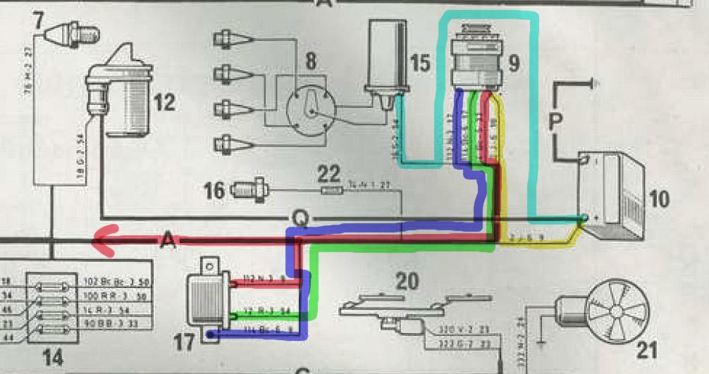 Schéma electrique r4