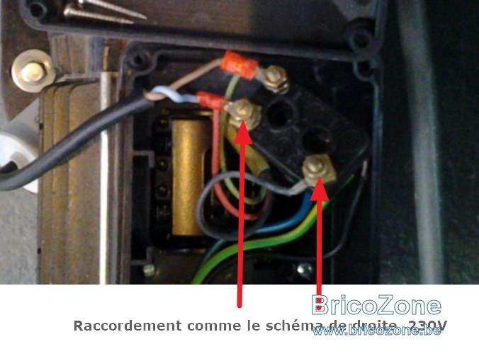 Schema electrique pompe nocchi