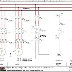 Schema electrique de base