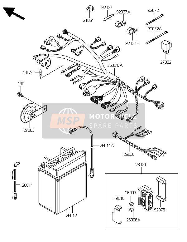 Schema electrique kle 500
