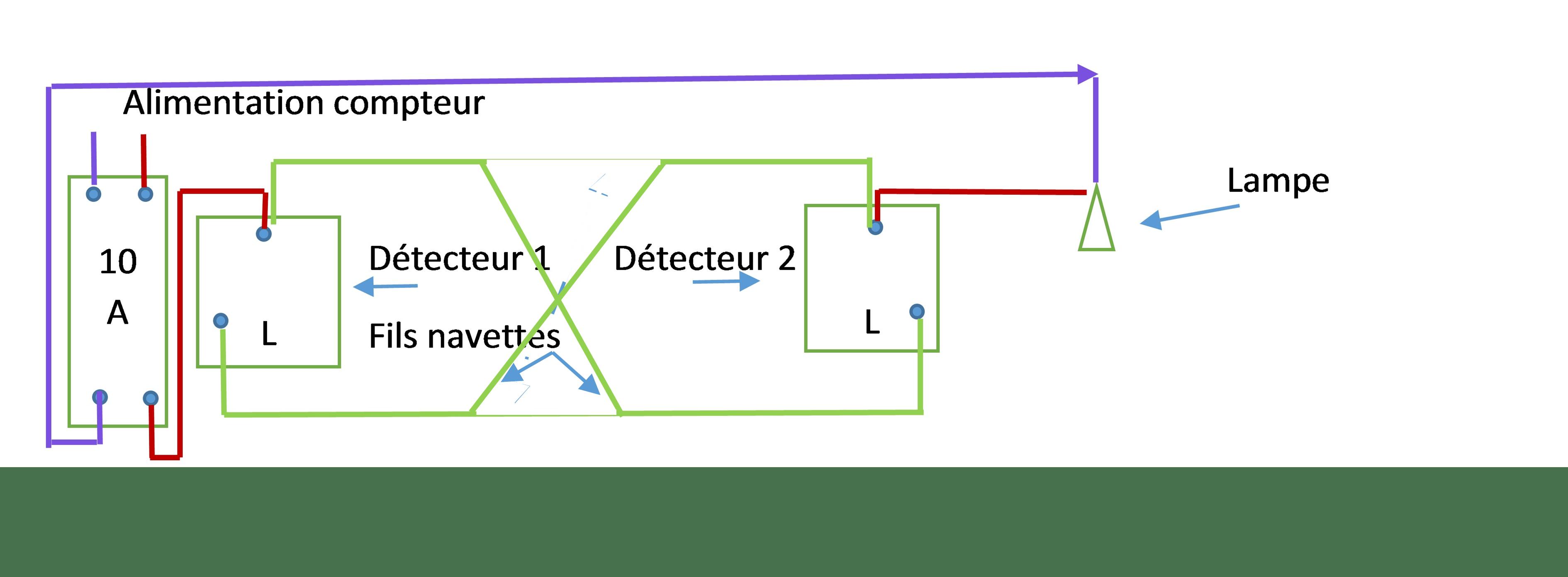 Schema electrique interrupteur 3 directions