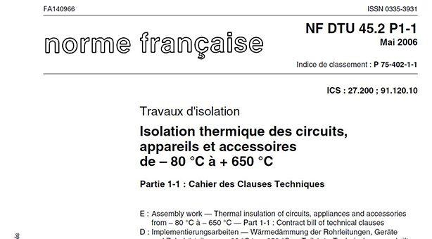 Norme electrique 2006