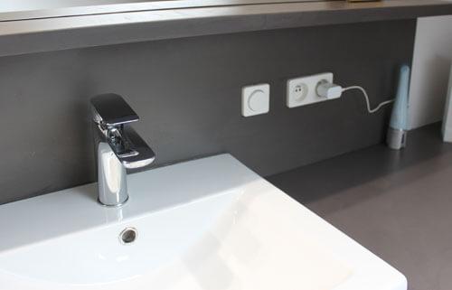 Mise au norme electrique salle de bain
