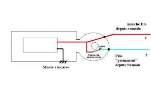 schema electrique tripolaire