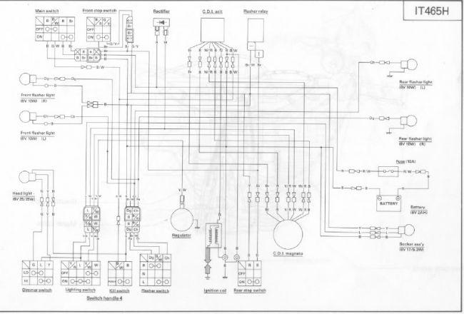 Schema electrique ty 50