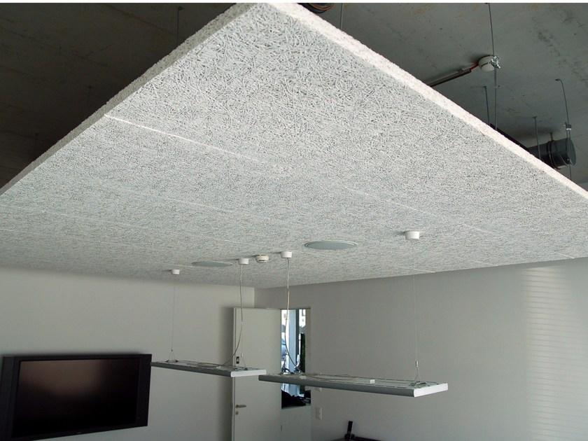 Laine acoustique plafond