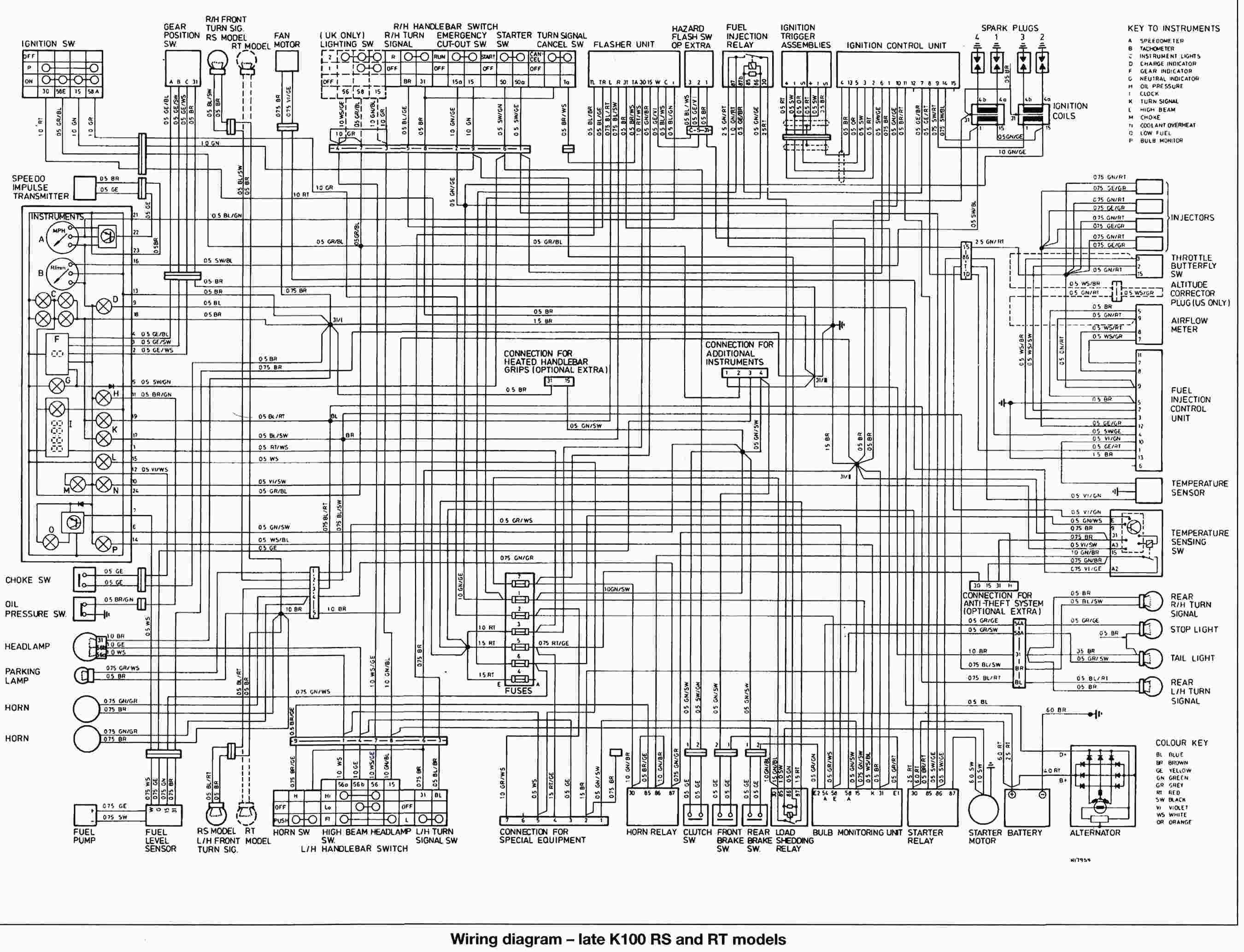 Schema Electrique Bmw K1100lt