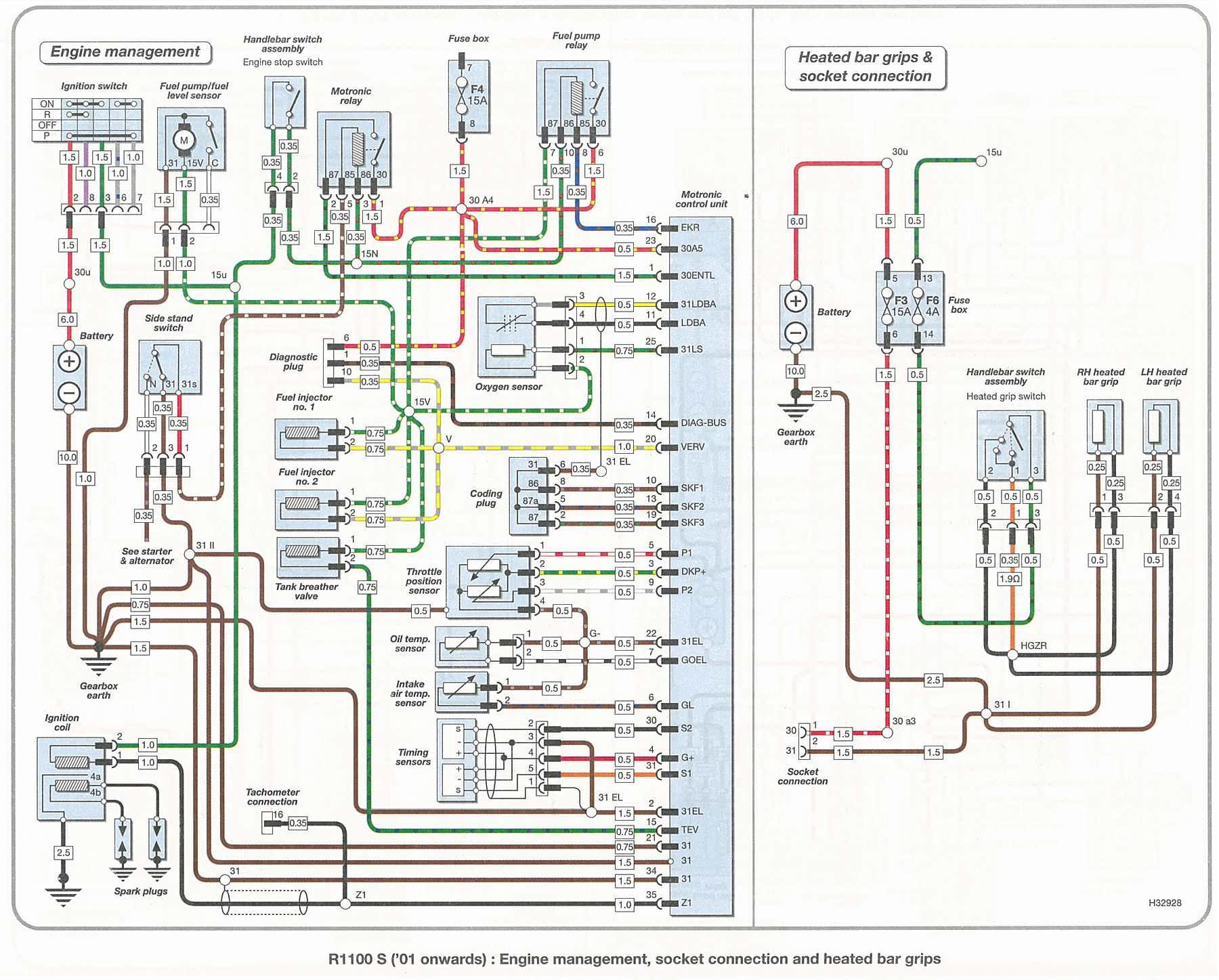 Schema Electrique R1150r
