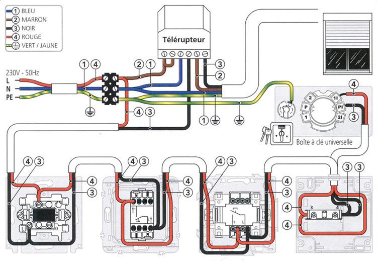 Schema electrique font vendome
