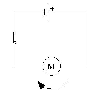 Schéma circuit électrique 5ème