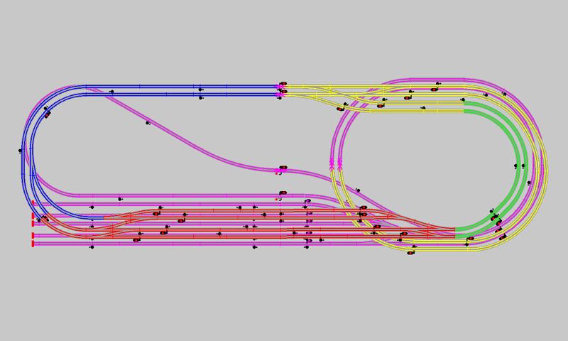 Schema reseau train electrique