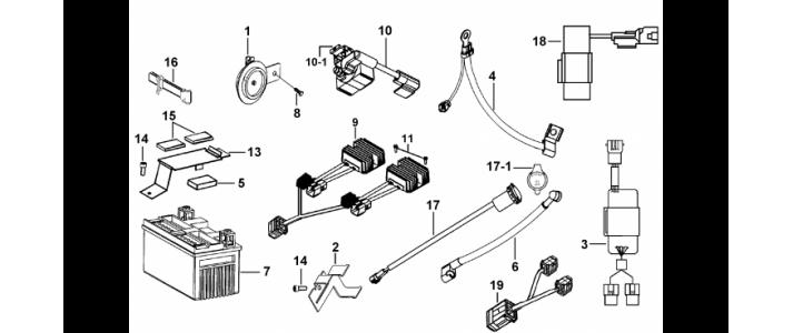 Schema electrique quad tgb 325