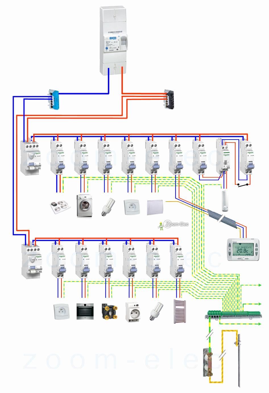 Schema electrique clim reversible