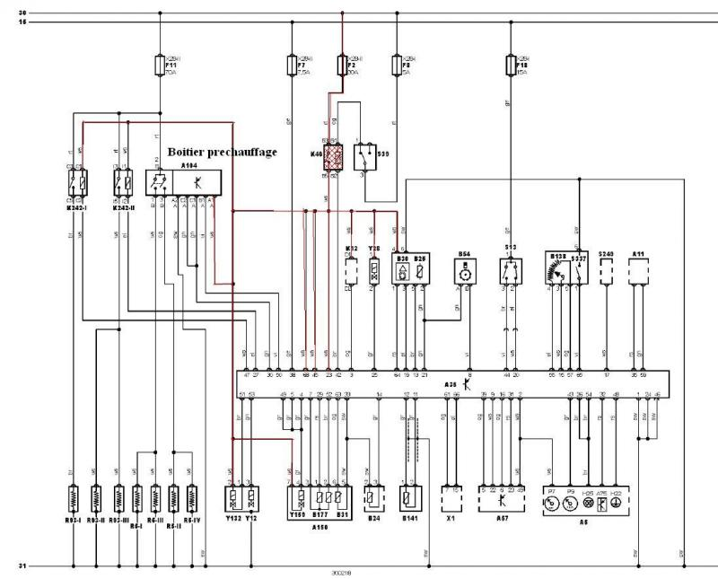 Schema electrique demarreur megane 2