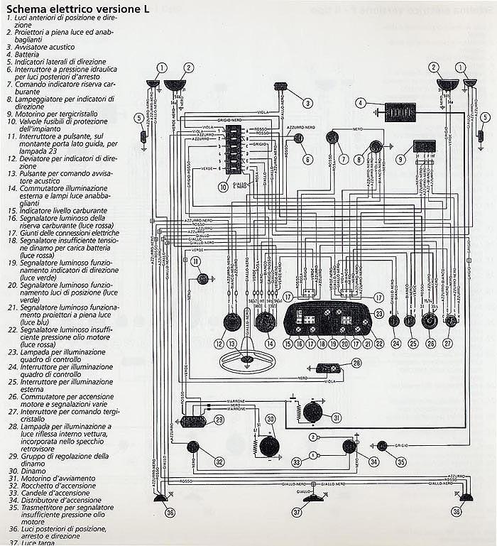 Schema electrique fiat 500 f