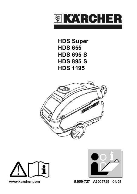 Schema electrique karcher hds 895