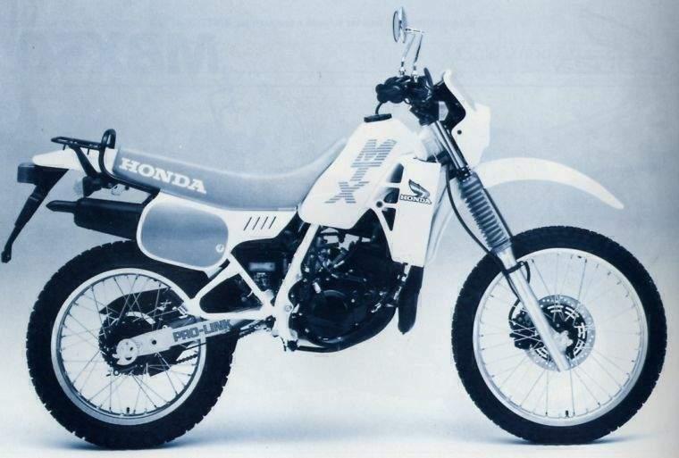 Honda mtx 50 schema electrique