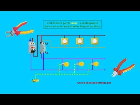 Schema tableau electrique telerupteur