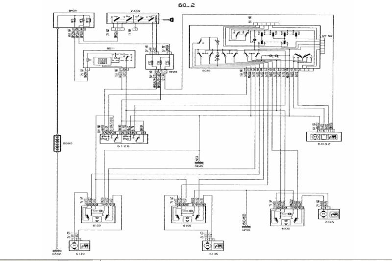 Schema electrique peugeot 307 cc