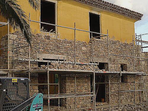 Isolation maison pierre