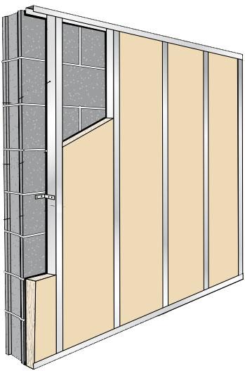 Montage isolation mur interieur