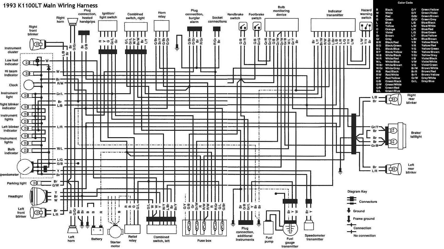 Schema electrique k75