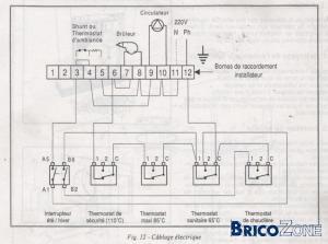 Schema electrique pour chaudiere fioul