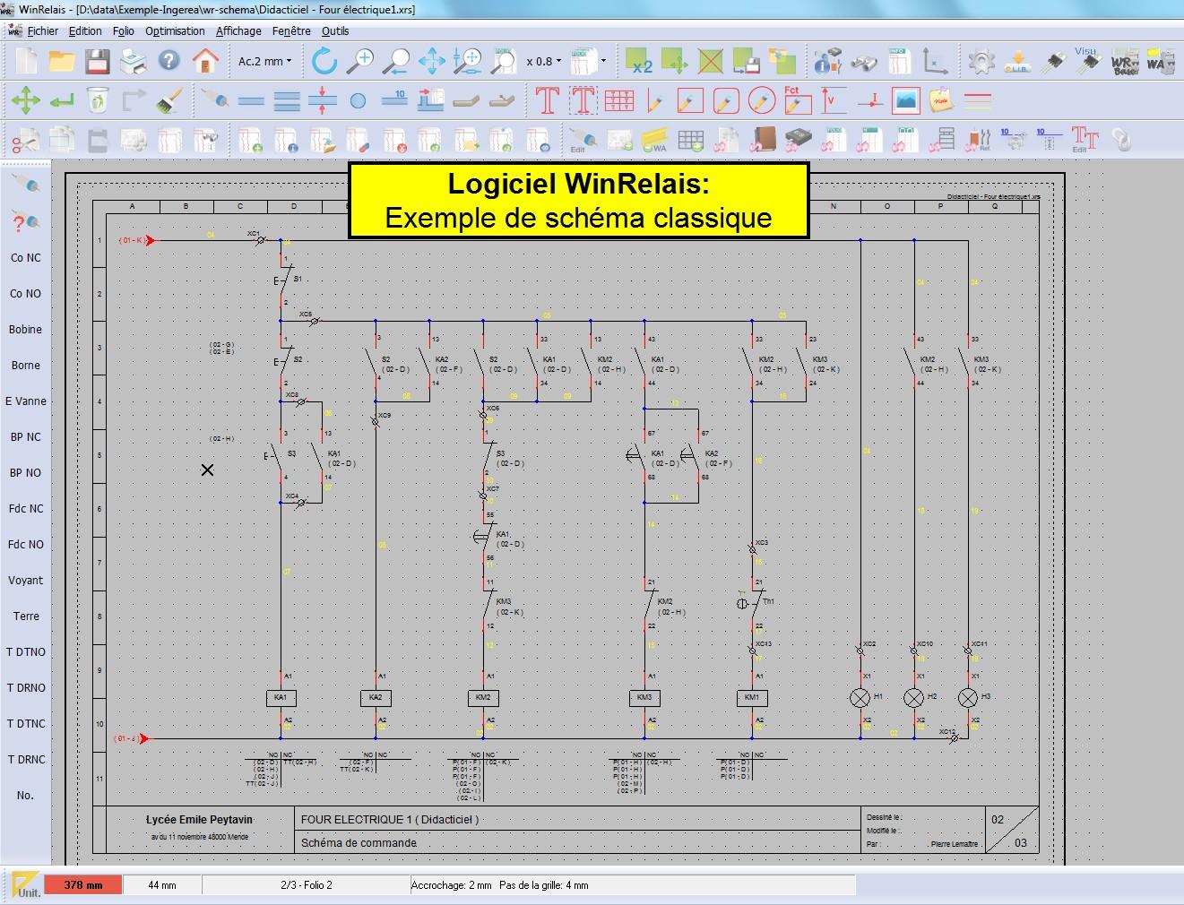 Logiciel schema electrique particulier
