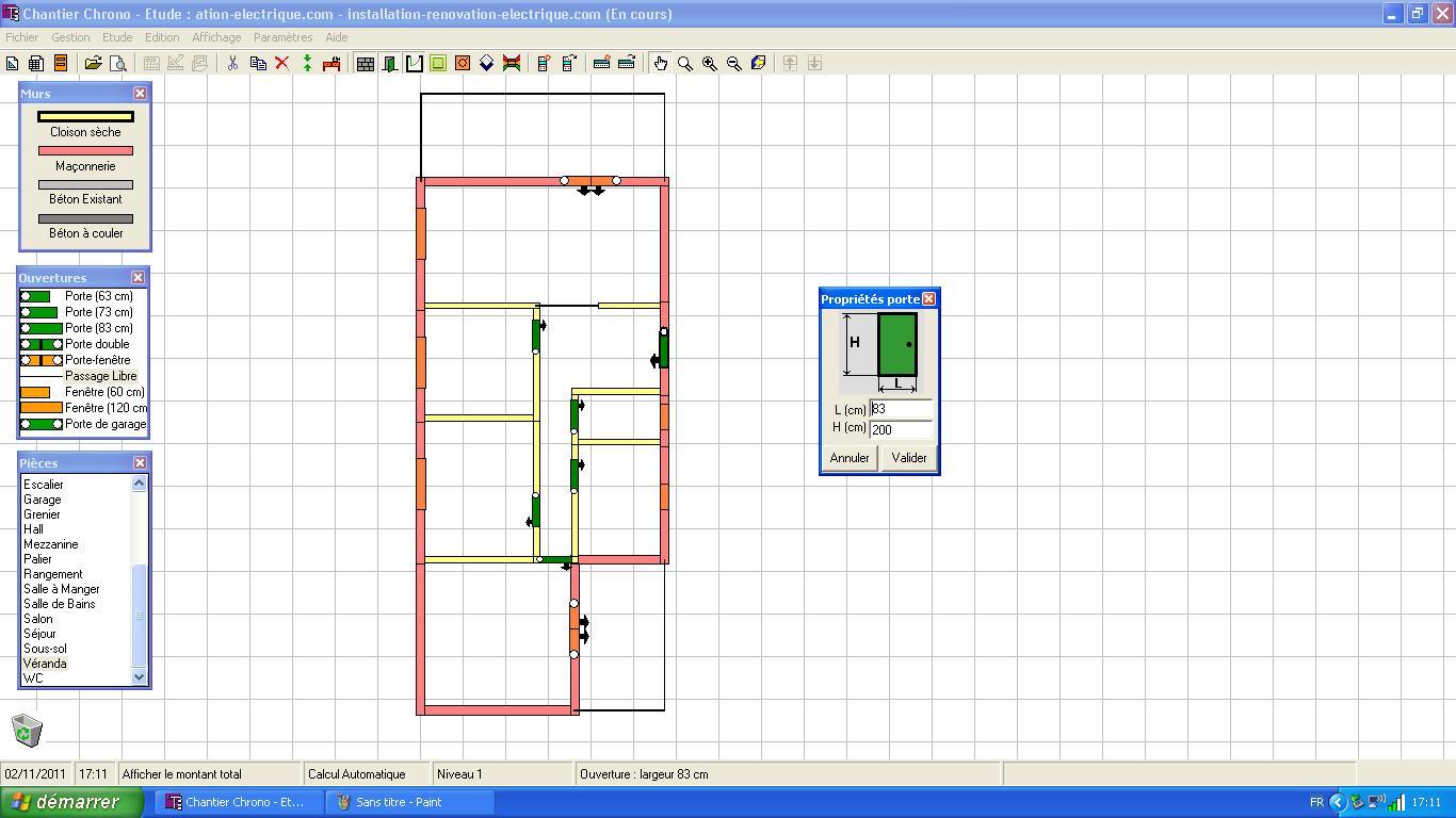 Logiciel pour faire schema electrique maison