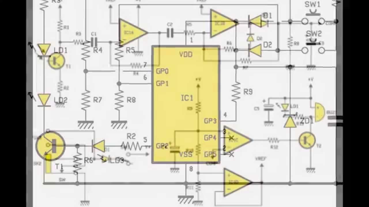 Schema electrique sonnette sans fil