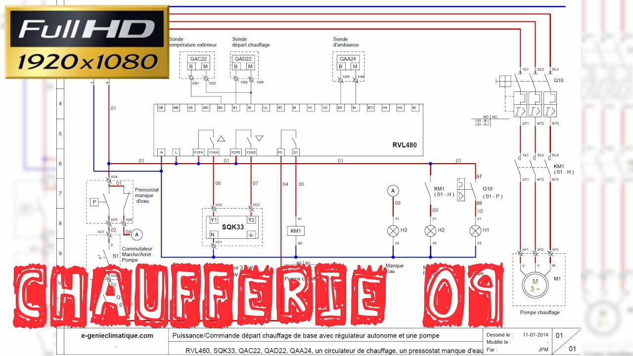 Sonde schema electrique