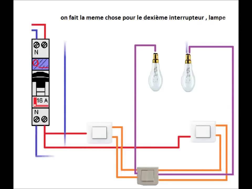 Schema electrique maison youtube