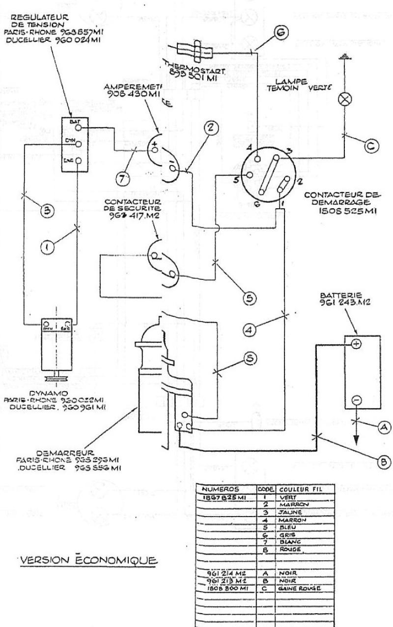 Schema electrique massey ferguson 135