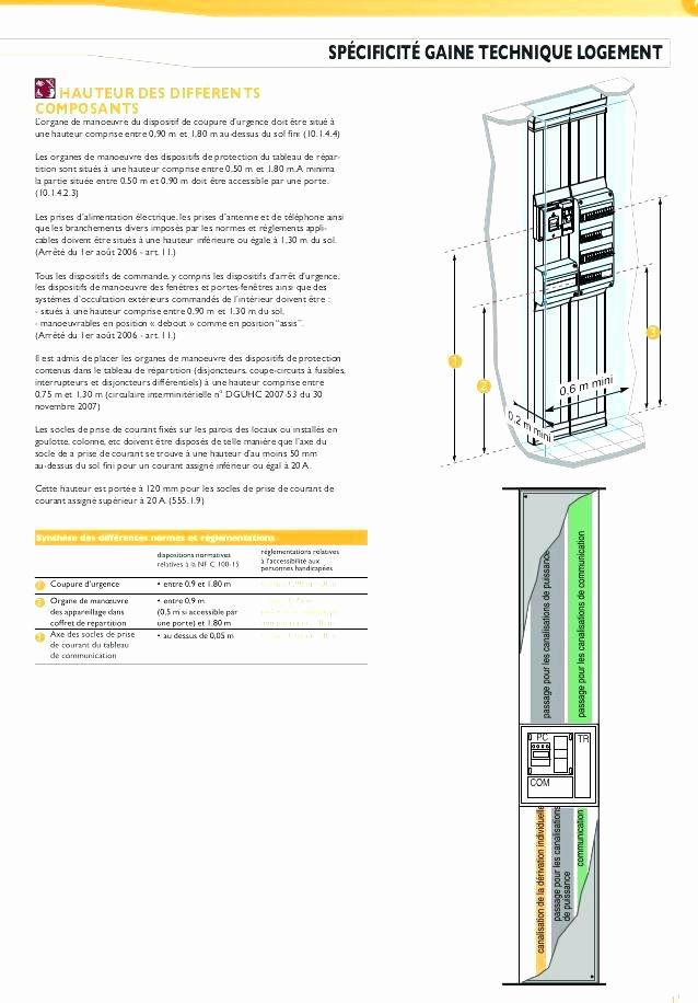 Norme interrupteur electrique