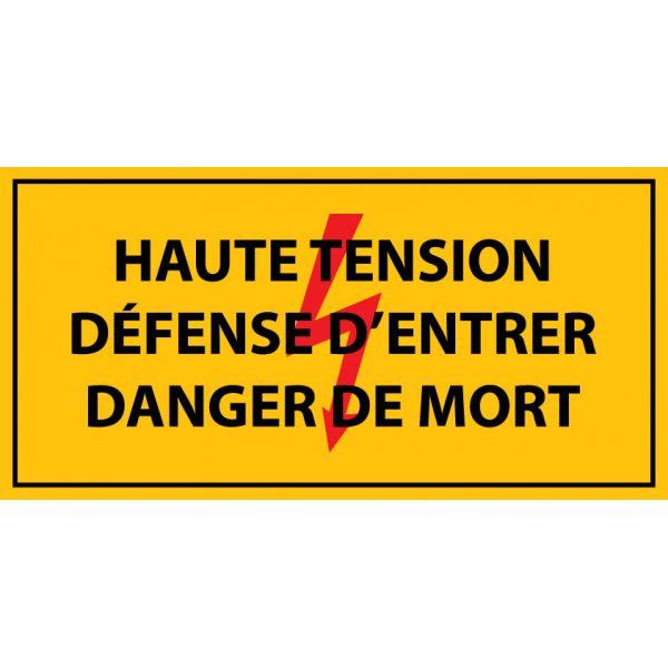 Pictogramme danger electrique norme