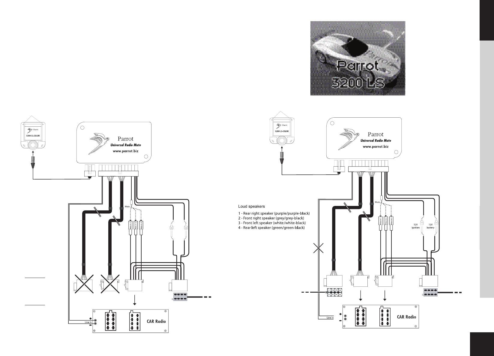 Parrot Bluetooth Wiring Diagram
